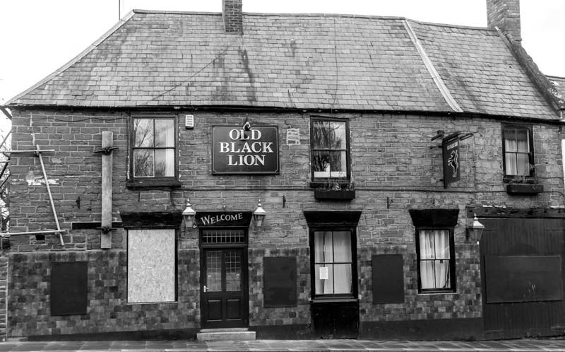The Old Black Lion, Mare Fare, Northampton