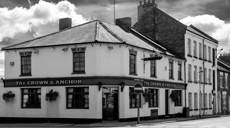 The Crown and Anchor, Victoria Road, off the Wellingborough Road, Northampton  25 May 2013