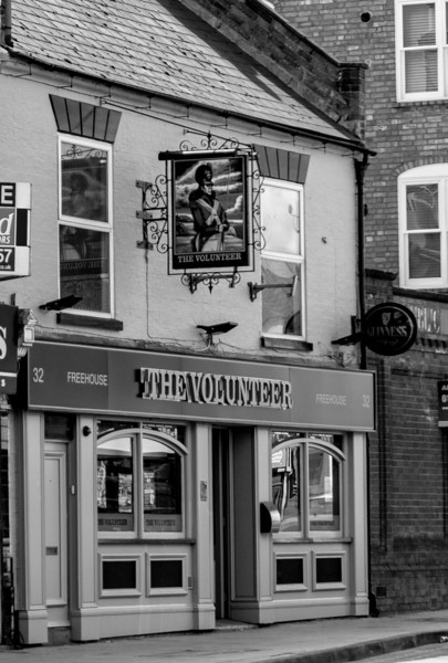 The Volunteer, Wellingborough Road, Northampton  25 May 2013
