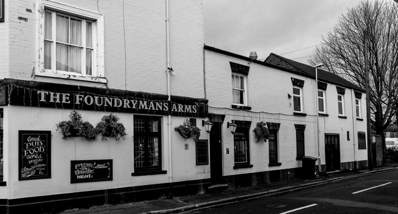 Back rooms, The Foundryman's Arms, St James Road, Northampton