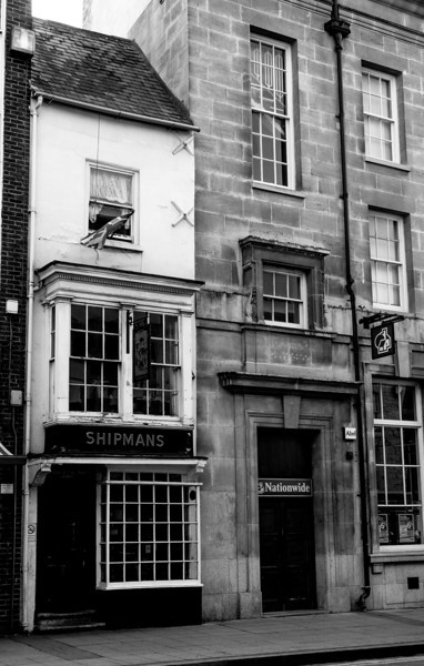 Shipmans and the White Hart, the Drapery, Northampton _