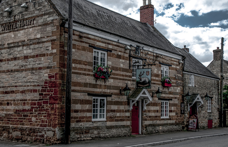 The White Hart, Hackleton, Northamptonshire - Copy