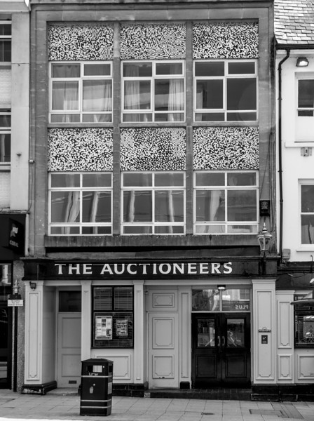 The Auctioneers (formerly York Travel), The Drapery, Northampton  25 May 2013