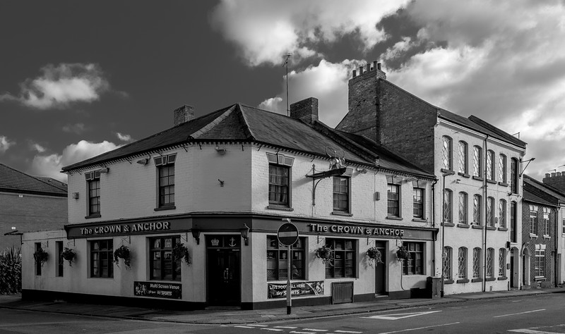 The Crown and Anchor, Victoria Street, Northampton