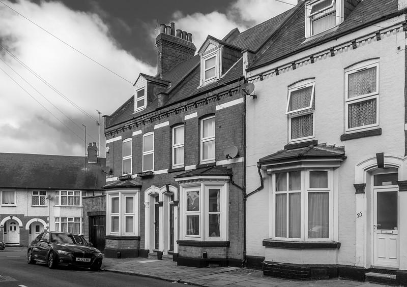 Bay frontedhouses, Agnes  Road, Semilong, Northampton