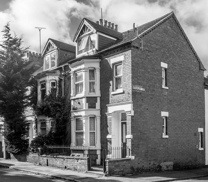 Double bay-fronted houses, Semilong Road, Semilong, Northampton