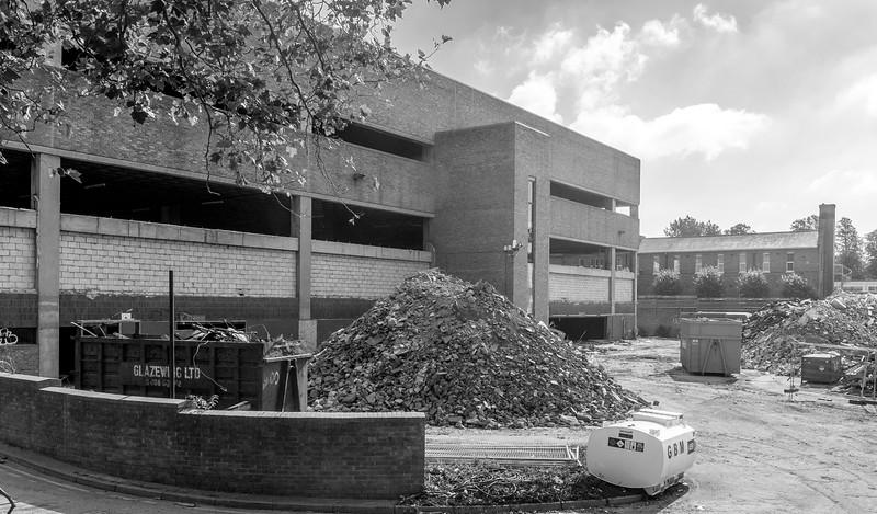 Former Sorting Office from Semilong Road, Semilong, Northampton