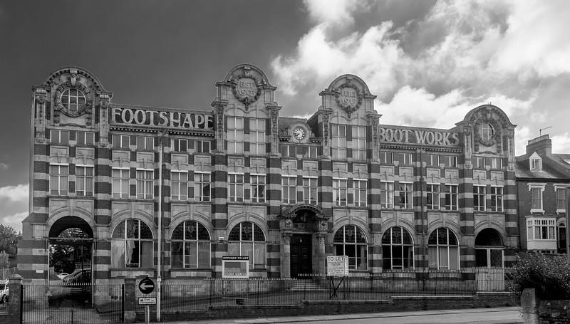 Barrett Footshape Works, Kingsthorpe Road, Northampton