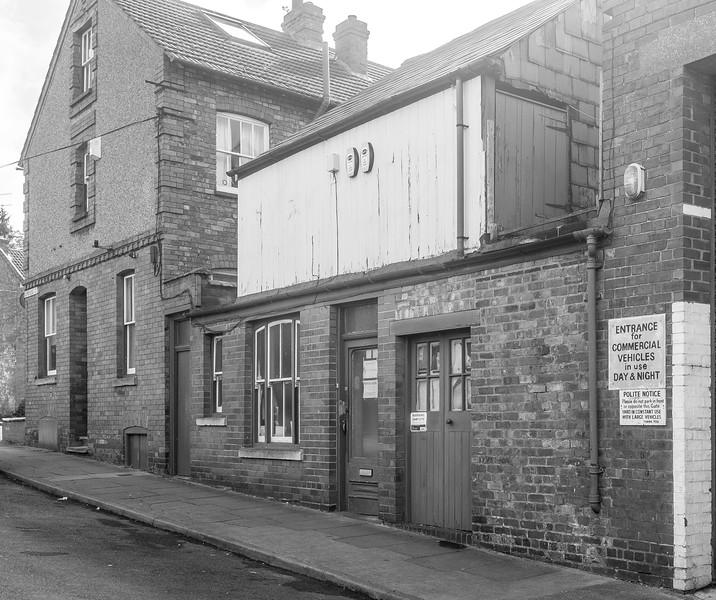 Building variety Cambridge Street, Semilong, Northampton