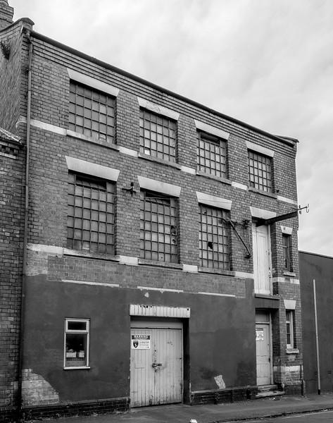 WT Markie Boot Factory, Connaught Street, Northampton