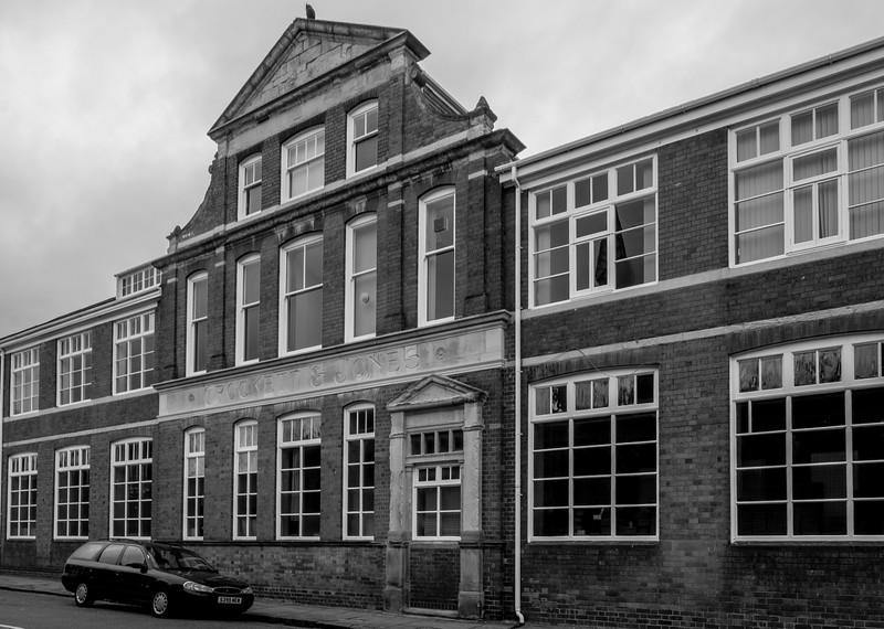 Crocket and Jones Shoe Factory, Magee Street, Northampton