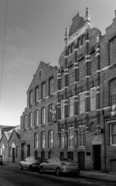 Globe Leather works, Dunster Street, Northampton