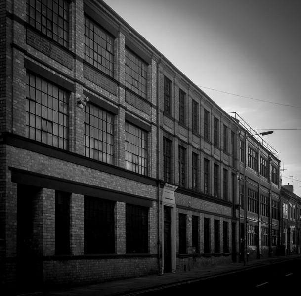 Shoe Factory triptych, Saint Michael's Road, Northampton