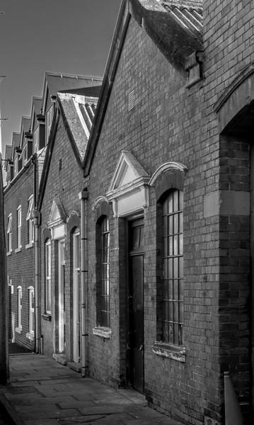 Small workshops, Dunster Street, Northampton