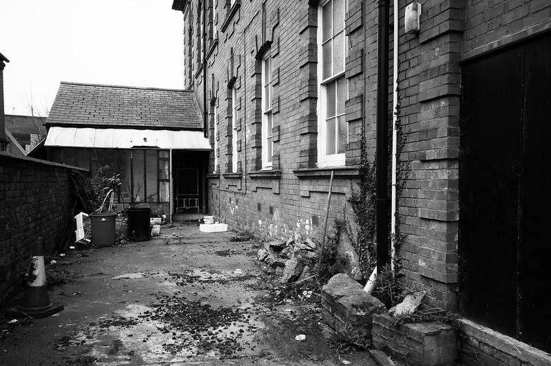 Shoe factories and chapel, Northampton