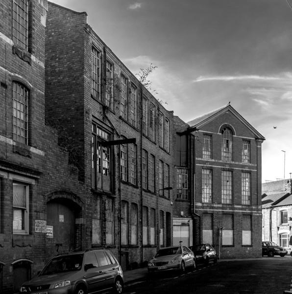Dunster Street Factory view, Northampton