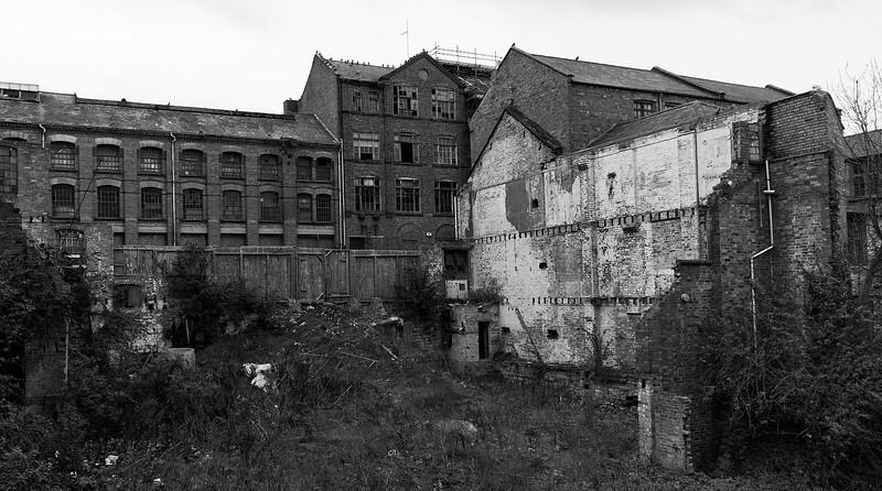 Decaying shoe factories, Northampton