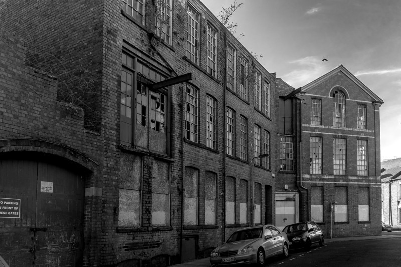 W Collier Leather dressing works, Dunster Street, Northampton
