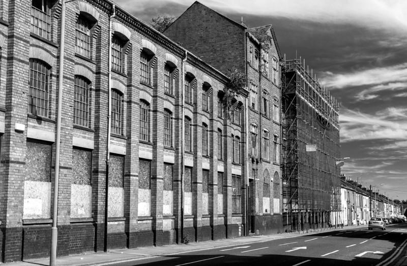 GT Hawkins shoe factories, StMichael's Road, Northampton_