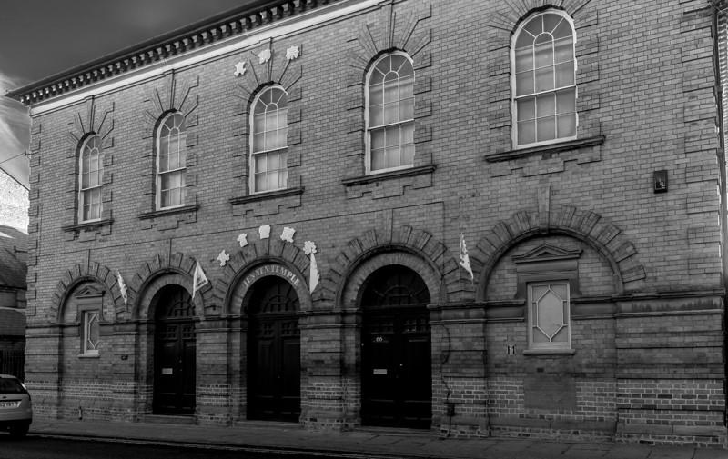 Jen Yin Temple, former Shoe Factory, Saint Michael's Road, Northampton