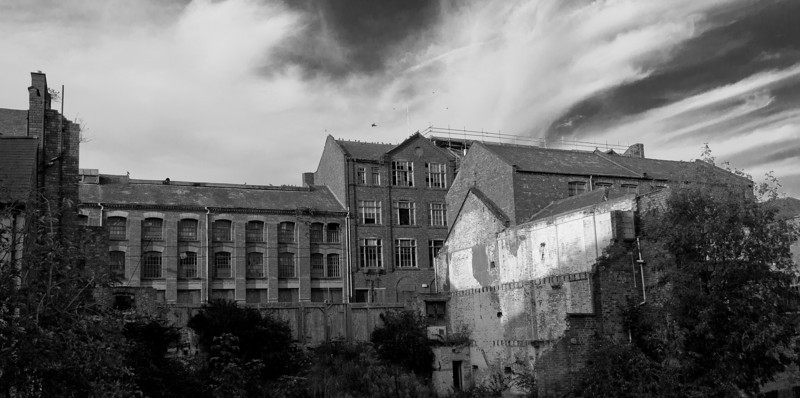 shoe factory remains, Northampton