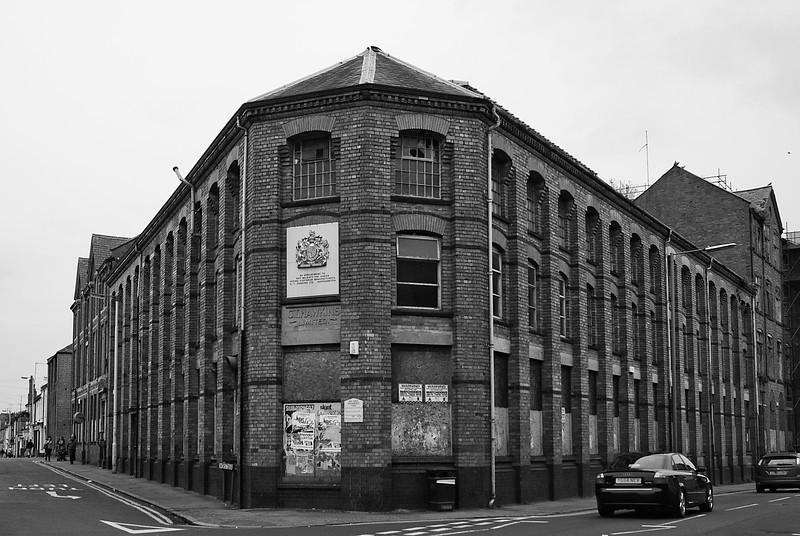 CT Hawkins factory, Northampton