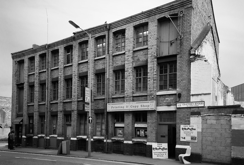 Print shop, old shoe factory, Northampton