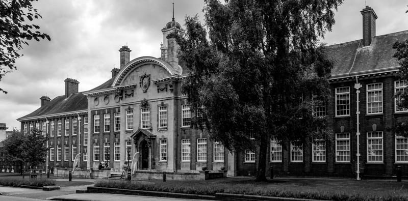 Northampton Girls School (now part of Nene Collage), St George's Avenue, Northampton