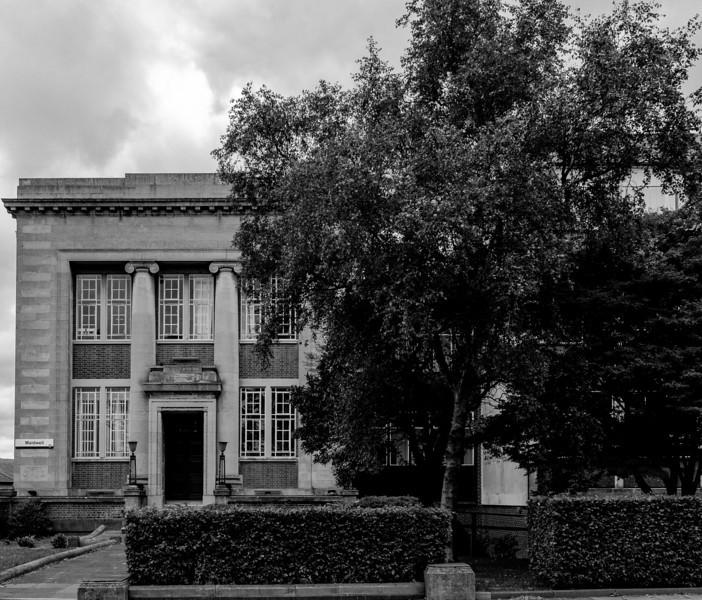Northampton Technical College  (now Nene College-University of Northampton), St George's Avenue, Northampton