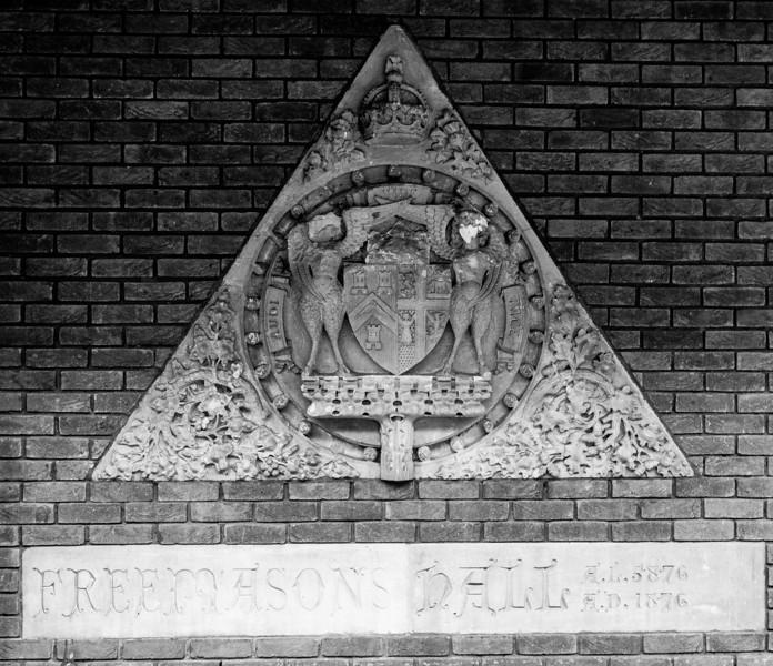 Detail, Freemason's Hall, St George's Avenue, Northampton