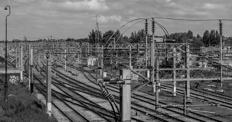 Overhead Line Equipment, Spencer Bridge Road, Northampton