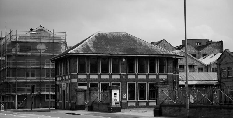 Tram depot offices, Northampton