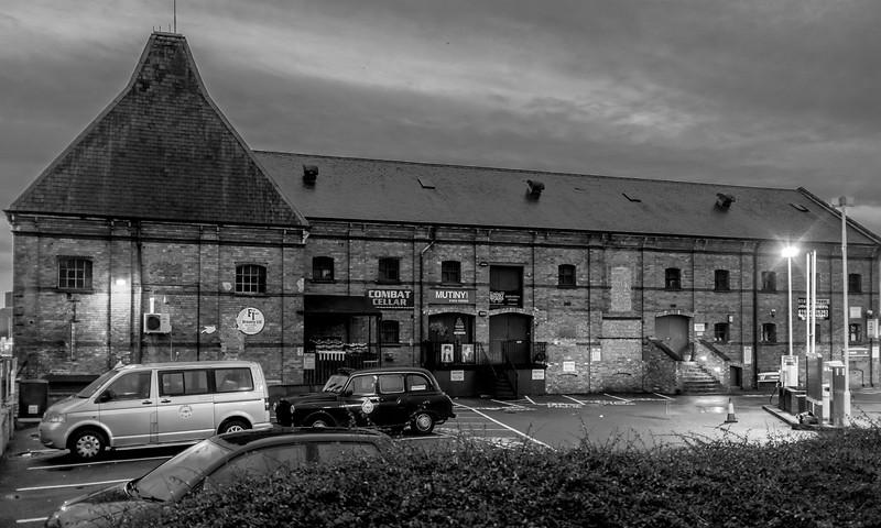 Northampton at dawn- Frog Island Brewery at Southbridge
