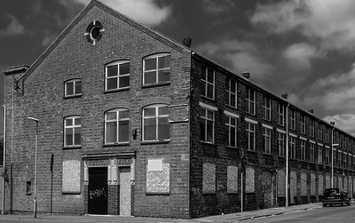 Barker's Boot and Shoe Factory, Countess Road, Northampton