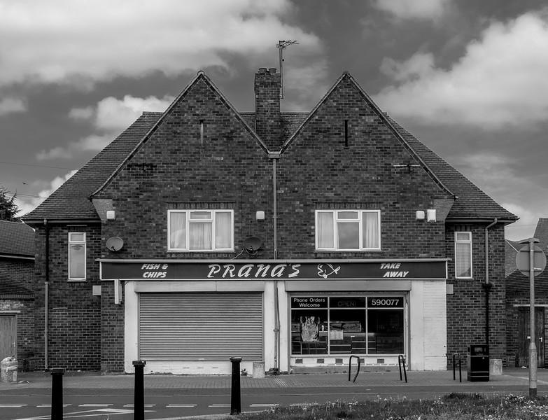 Chip shop, Tintern Avenue, Northampton