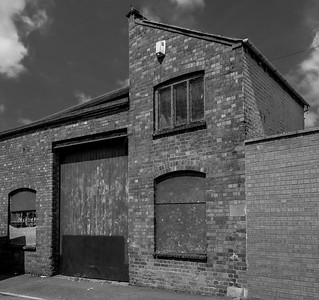 Outbuildings, Barker's Boot and Shoe Factory, Countess Road, Northampton