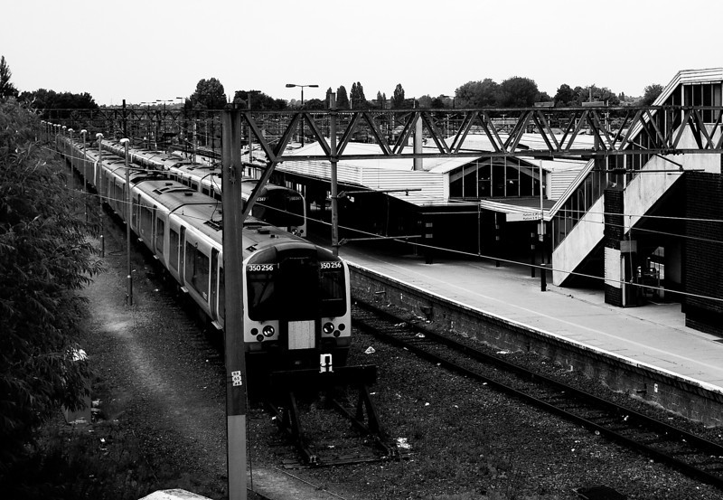 Platform 4, Castle Station, Northampton