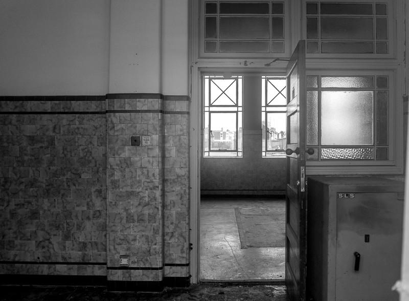 Interior Northampton Corporation Tram Depot, St.James, Northampton