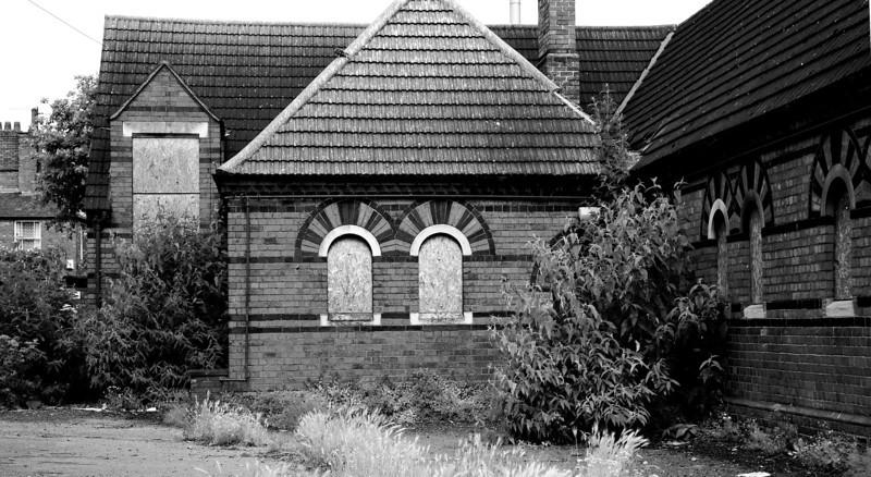 Derelict Church Hall, St James