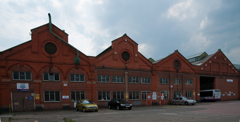 Tram depot, Northampton