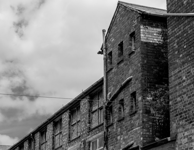 Rear, Barker's Boot and Shoe Factory, Countess Road, Northampton