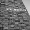 Street Sigh, Alma Street,  Saint James, Northampton