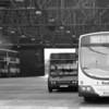 Tram depot, interior, Northampton