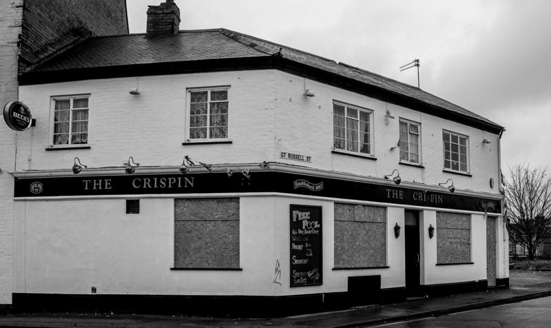 The Crispin (closed), Great Russel Street, Northampton