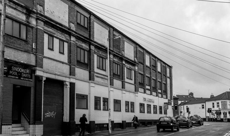 Wedge shoe factory, Overstone Road, Northampton