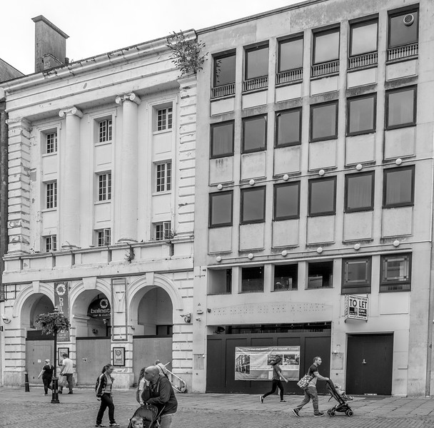 Former Corn Exchange and Former Weatherspoons, Market Square, Northampton_