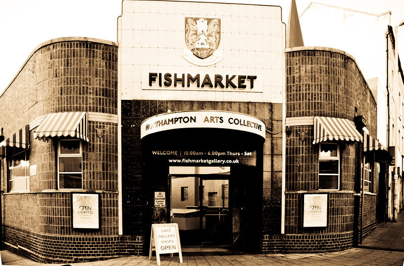Fishmarket, Sheep Street, Northampton (Photo taken November 2011, before demolition)