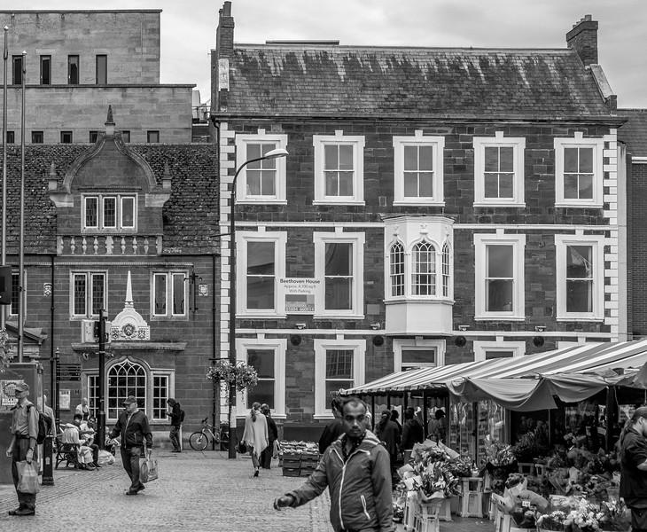 Beethoven House, Market Square, Northampton_