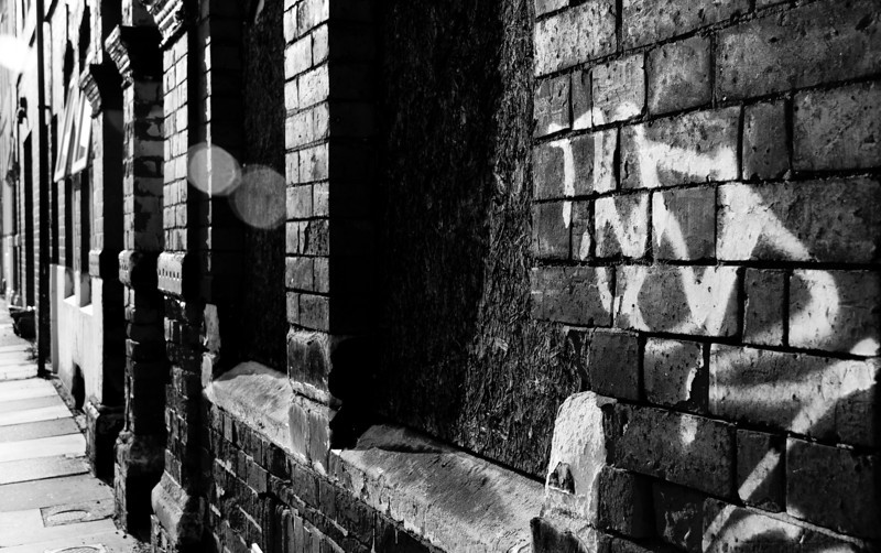 Bricked up terrace, Northampton