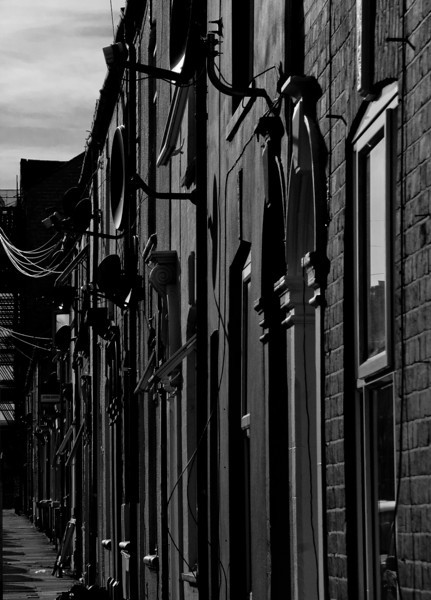 Terraced houses, St Michael's Road, Northampton